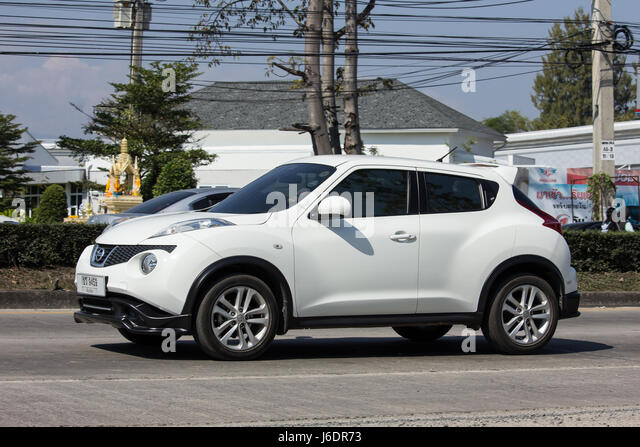 CHIANG MAI, THAILAND  JANUARY 22 2017: Private Car, Nissan Juke. On