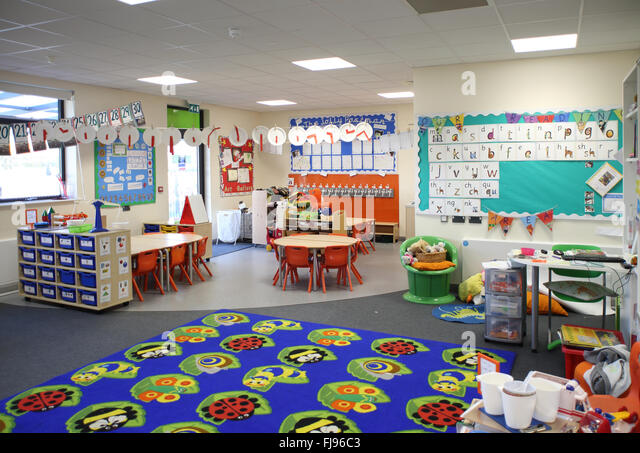 Early Years Classroom Uk Stock Photos Amp Early Years