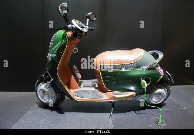 electric scooter stock photos electric scooter stock images alamy. Black Bedroom Furniture Sets. Home Design Ideas