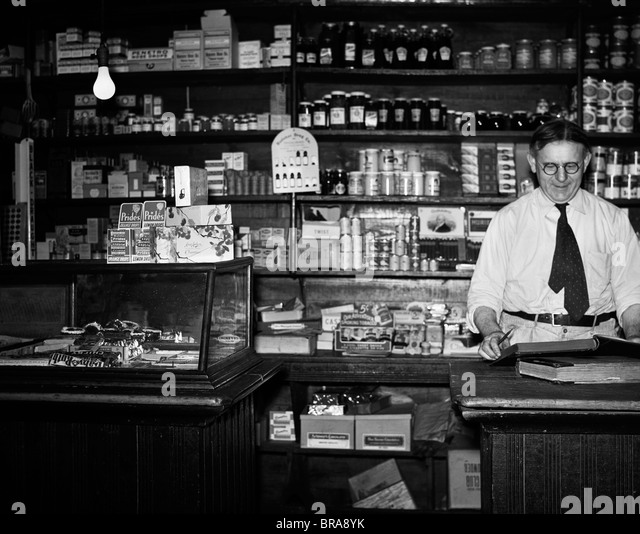 General Store Stock Photos General Store Stock Images: General Store Black White Stock Photos & General Store