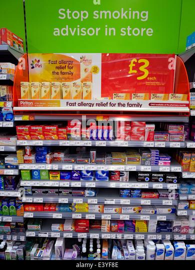 cold medicine shelves stock photos  u0026 cold medicine shelves