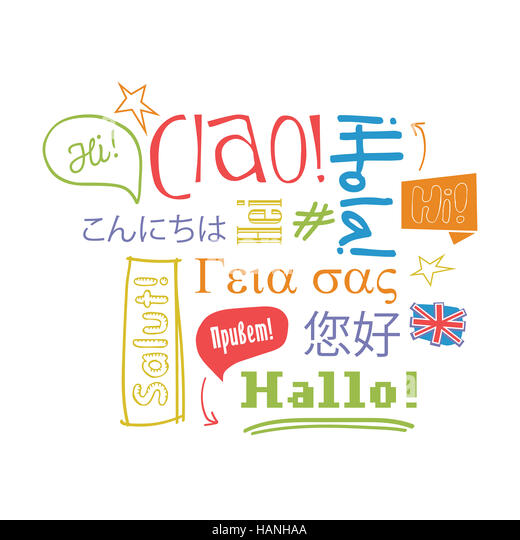 many different languages cut out stock images amp pictures