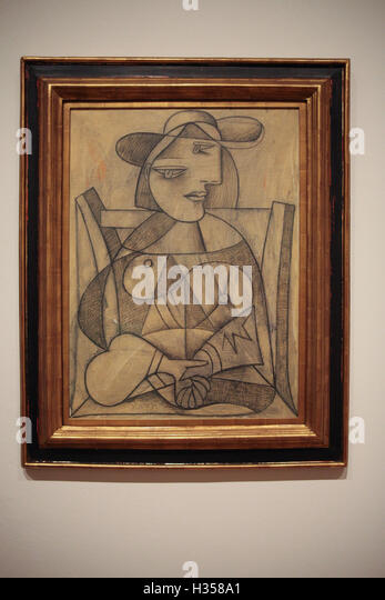 Pablo Picasso Portrait Marie Therese Walter Stock Photos & Pablo ...