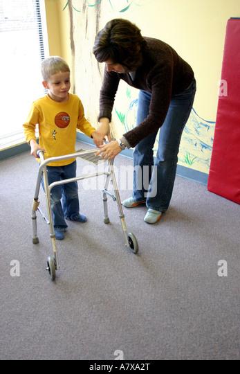Cerebral Palsy Child Stock Photos Amp Cerebral Palsy Child