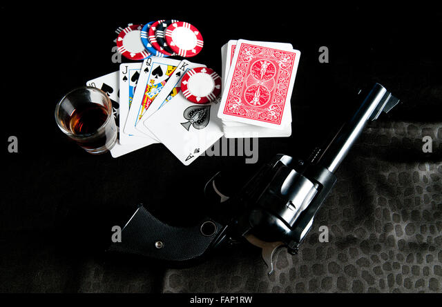 Poker old west game
