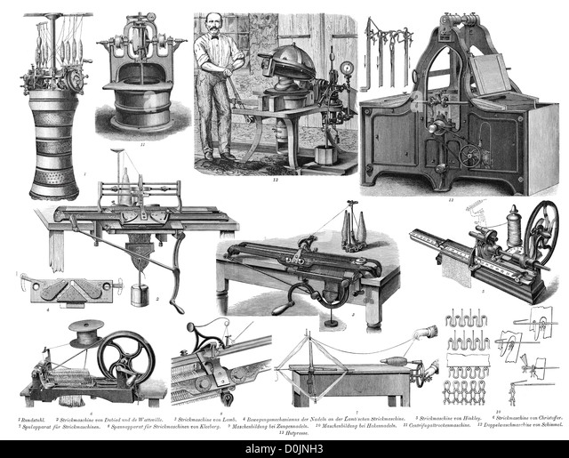 machine industrial revolution