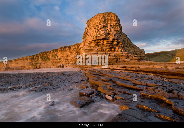 Nash point stock photos nash point stock images alamy for Heritage point