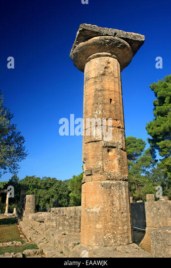 Olympia Greece Hera Stock Photos & Olympia Greece Hera ...