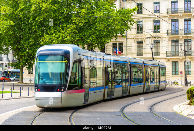modern tramway stock photos modern tramway stock images alamy. Black Bedroom Furniture Sets. Home Design Ideas