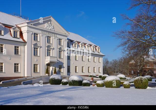 Seehotel stock photos seehotel stock images alamy for Design hotel brandenburg