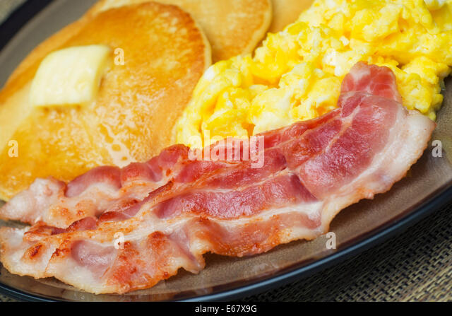 Pancakes And Bacon Stock Photos & Pancakes And Bacon Stock ...