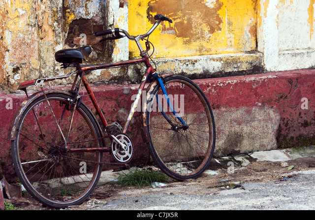 Old Rusty Bike Stock Photos Old Rusty Bike Stock Images