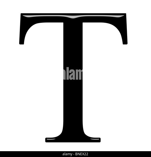 Tau Greek Letter
