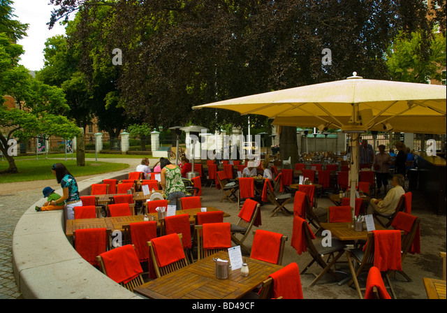 Open air terrace restaurant in stock photos open air for Open terrace restaurants