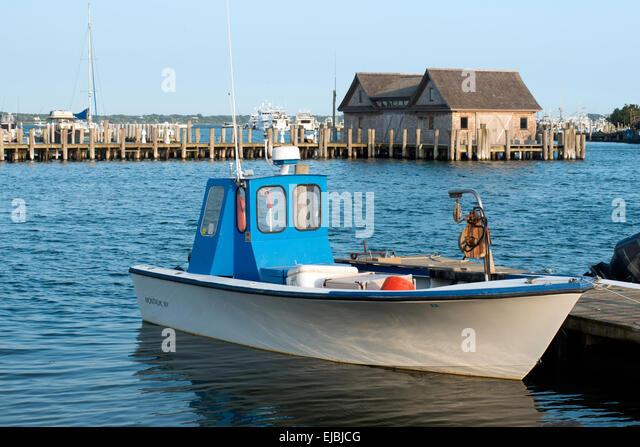 The hamptons new york stock photos the hamptons new york for Fishing boats nyc