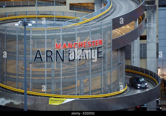 Arndale Centre Car Park Being