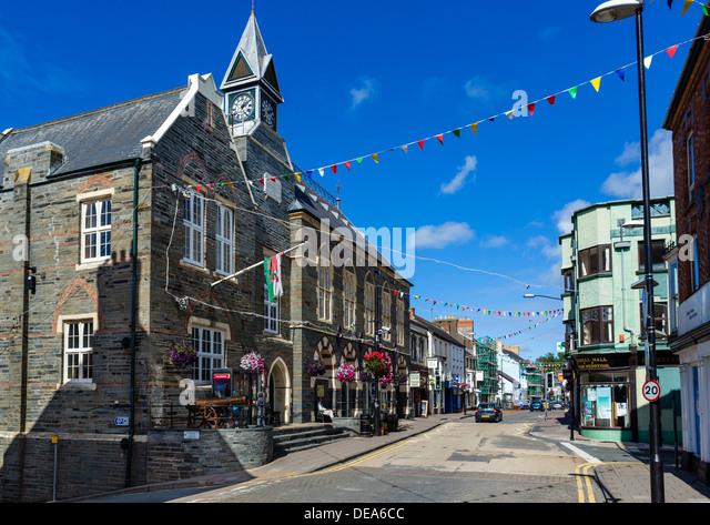 Cardigan Wales Not Bay Not Aberystwyth Stock Photos & Cardigan ...