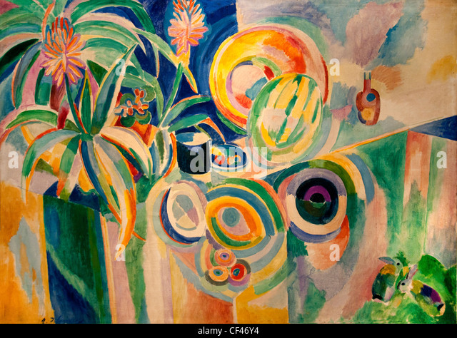 Rober Delaunay - Page 3 Symphonie-coloree-colorful-sympohony-1915-robert-delaunay-painter-cf46y4