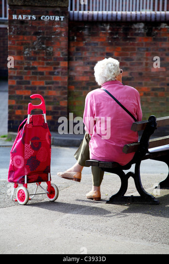 Marvelous Old Woman And Shopping Trolley Stock Photos  Old Woman And  With Outstanding Old Woman Resting On A Park Bench With Her Shopping Trolley Windsor Uk  With Amazing London Island Gardens Also One Garden In Addition Iron Garden Gates Uk And Gardeners Haskins Bristol As Well As Cardiff Garden Centre Additionally Garden Websites Uk From Alamycom With   Outstanding Old Woman And Shopping Trolley Stock Photos  Old Woman And  With Amazing Old Woman Resting On A Park Bench With Her Shopping Trolley Windsor Uk  And Marvelous London Island Gardens Also One Garden In Addition Iron Garden Gates Uk From Alamycom