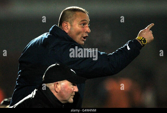 goalkeeping coach ali uzunhasanoglu stock photos. Black Bedroom Furniture Sets. Home Design Ideas