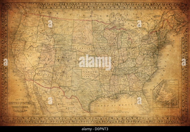 Usa Map States Stock Photos Usa Map States Stock Images Alamy - Us map state highlighter