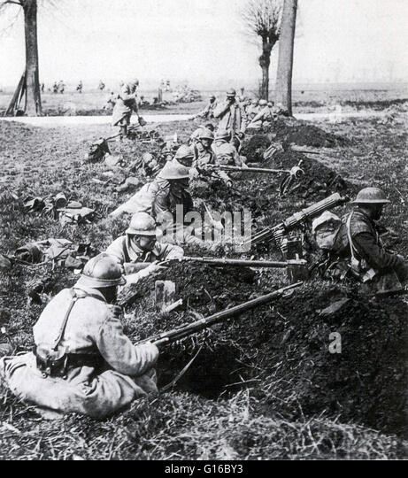 battle at the marne The second battle of the marne resulted from the third major thrust of the great  german offensive of 1918 beginning in late may 1918, the german advance.