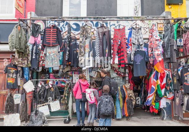 camden market clothes vintage stock photos camden market