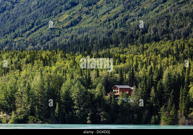 Cabin House In Wilderness Woods Stock Photos Cabin House