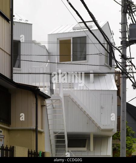 TOKYO APARTMENT JAPAN SOU FUJIMOTO ARCHITECTS OVERALL VIEW   Stock Image