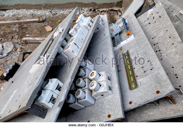old fuse boxes g0jhbx fuse boxes stock photos & fuse boxes stock images alamy,Fuse Box In Apartment Building