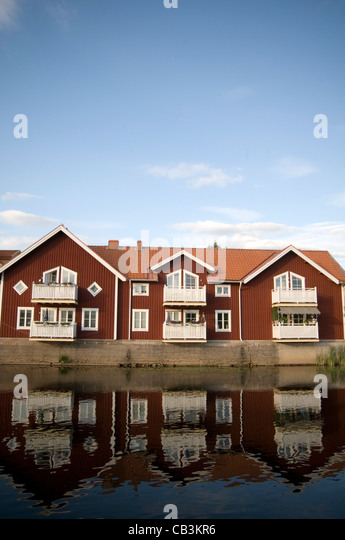 swedish houses stock photos & swedish houses stock images - alamy