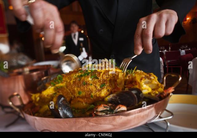 Bouillabaisse restaurant miramar stock photos bouillabaisse restaurant miramar stock images - Restaurant bouillabaisse marseille vieux port ...