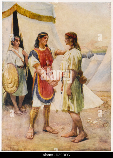 king david and jonathan bing images