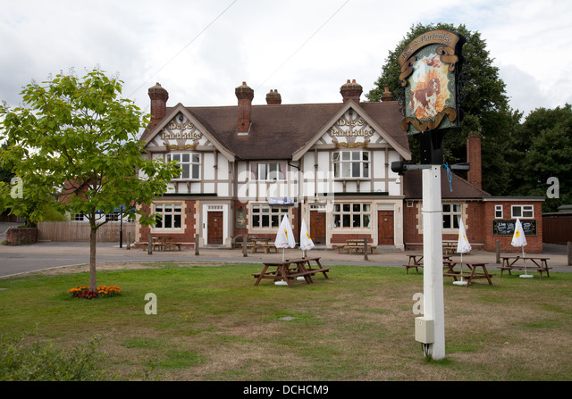 Dog Partridge Inn Yateley Hampshire