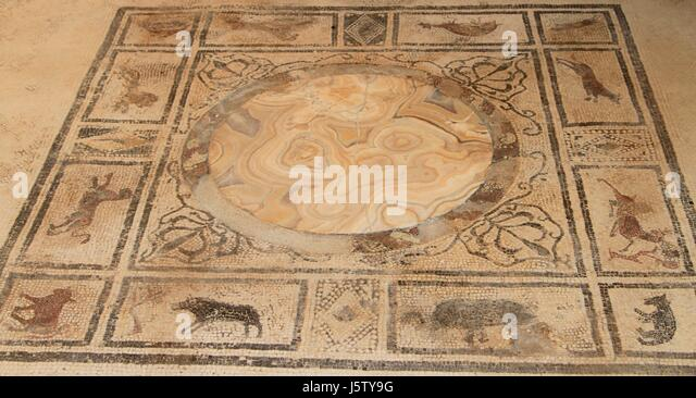 Roman Floor Mosaics Stock Photos Roman Floor Mosaics Stock Images