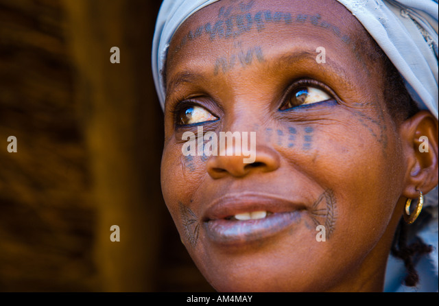 Facial Scarring In Fulani Tribe