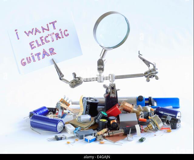 Electric Guitar Parts Stock Photos & Electric Guitar Parts Stock ...