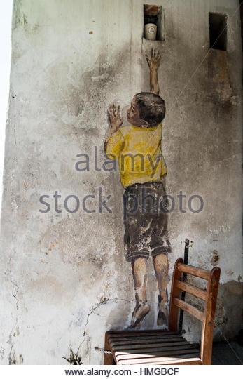 Child malaysia stock photos child malaysia stock images for Mural hidupan laut