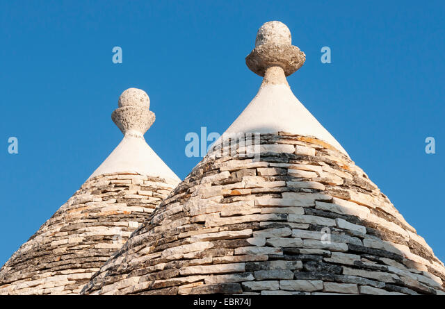 Close-up of Conical Roofs of Trullo Houses Alberobello Trulli District Puglia & Conical Roofs Stock Photos u0026 Conical Roofs Stock Images - Alamy memphite.com