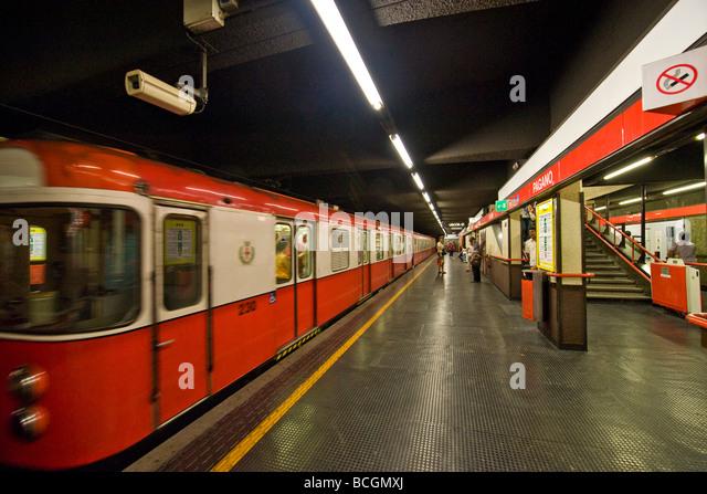 Milan Subway Stock Photos & Milan Subway Stock Images - Alamy