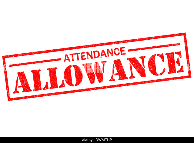 Attendance Allowance Photos Attendance Allowance – Attendance Allowance Form