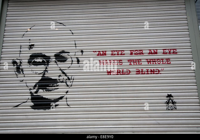 When did ghandi say,