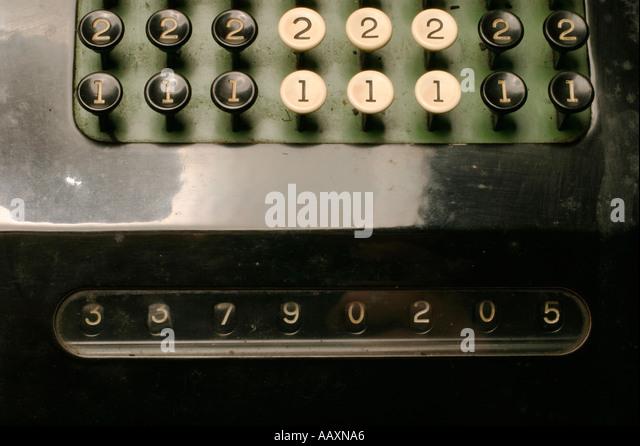 machine key stock
