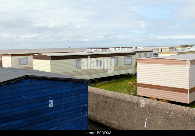 Seaside Trailer Park Whitstable On The Kent Coast
