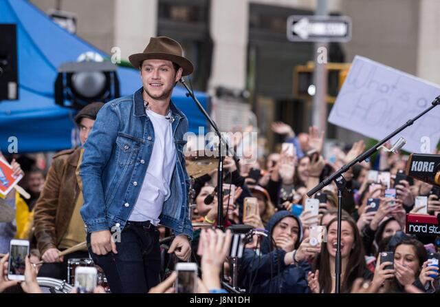 New York, NY, USA. 29th May, 2017. Niall Horan on stage for NBC Today Show Concert with Niall Horan, Rockefeller - Stock Image