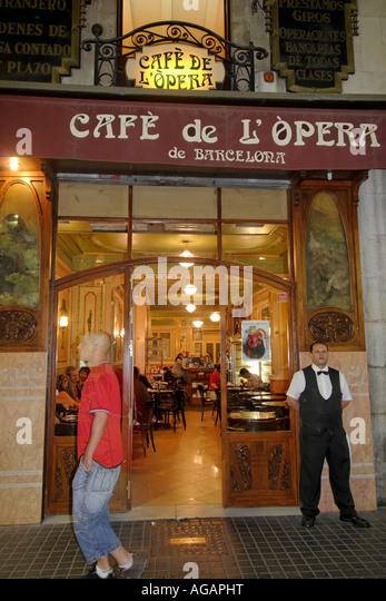 Cafe De L Opera Las Ramblas
