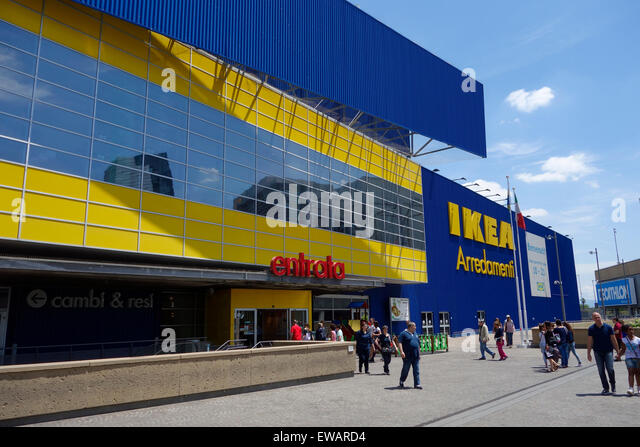 Ikea store stock photos ikea store stock images alamy - Ikea roma porta di roma roma ...