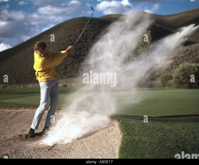 how to hit out of the sand