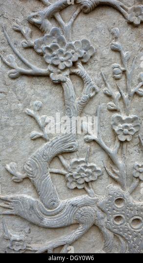 Bali rock art stock photos images
