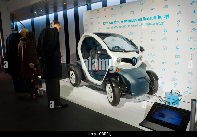 renault twizy car paris stock photos renault twizy car paris stock images alamy. Black Bedroom Furniture Sets. Home Design Ideas
